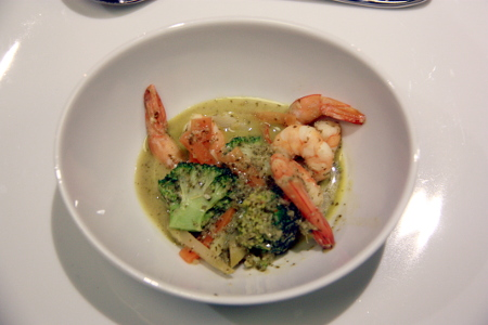 Green Thai-Curry mit Shrimps
